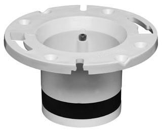 "43539 PVC 4"" OATEY REPLACEMENT FOR CAST IRON CLOSET FLANGE.BOLT TYPE."