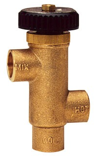 LFL70A-F WATTS 1/2 TEMPERING VALVES 100F - 130F (0559131) LEAD COMPLIANT