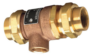 "9D 1/2"" WATTS BACKFLOW (61935) IP connection"