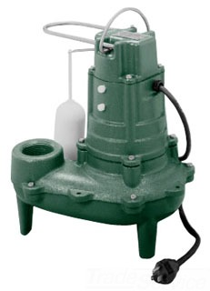 "267-0001 ZOELLER M267 WASTE-MATE 1/2-HP, 2"" DISCHARGE SUMP PUMP 10FT CORD PROVIDED 3-YR WARRANTY"