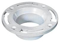 """CF-2989-PV3-TC 3"""" st JONESPEC PVC CLOSET FLG W/ K.O. ( PCF132)"""