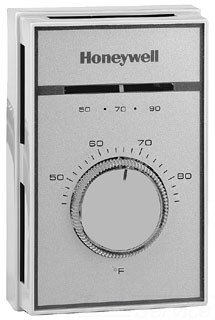 T451A3005 HONEYWELL 1-STAGE LINE VOLTAGE THERMOSTAT (T451A2007)