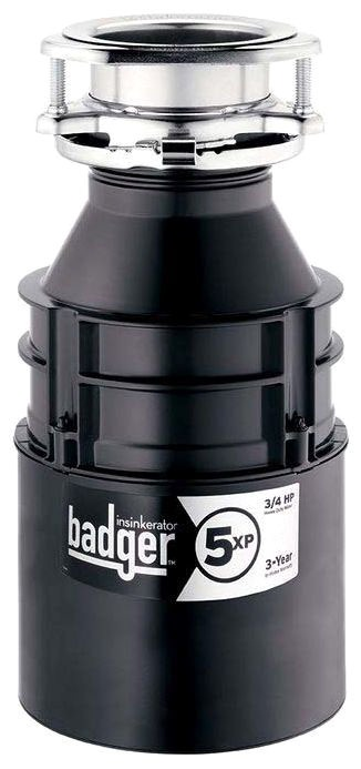 BADGER VXP ISE 3/4 HP DISPOSER 3-year in-home Warranty