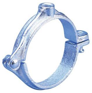 "138R-40 4"" SPLIT RING PIPE CLAMP (4550400PL)(1/2"" ROD SIZE)"