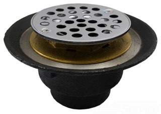 "D61-101 2"" FEMALE IP SHOWER DRAIN D61-101 for shower pan"