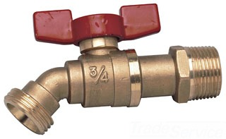 "BD QT 3/4"" MIP WATTS QUARTER TURN BOILER DRAIN WITH 3/4 HOSE CONNECTION (0820956) Not approved for Potable Water 2014"