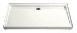 $$$ K9928-0 GROOVE RECEPTOR 60 X 36 SHOWER BASE WHITE