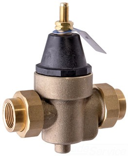 "N45BU-LF-06 WATTS 3/4"" PRESSURE REDUCING VALVE WITH UNION CONNECTION, ADJUSTABLE PRESSURE LEAD COMPLIANT(9478)"