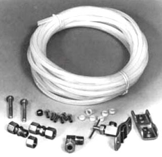 2045 PASCO ICE MAKER KIT ( 1/4IN X 25 FT. POLY TUBING, 1 SELF PIERCING VALVE & ALL NECESSARY BRASS FTGS) (LEAD COMPLIANT) ( SC1908A S92025)