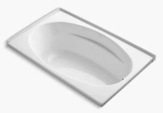 $$$ K1142-R-0 PROFLEX BATH W/FLANGE-60X36