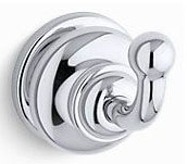 $$$ K12156-G FAIRFAX BRUSH CHROME ROBE HOOK
