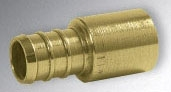 NP232-0304 (40622) 3/8 PEX CRIMP X 1/2 SWEAT FITTING ADAPTER VIEGA Not approved for Potable Water 2014