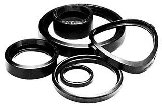 "7045 3 - 8 X 2"" ""E"" GASKET ONLY FOR FIP OUTLET (FITS 3"" THRU 8"" SADDLES WITH 2"" OUTLET)"