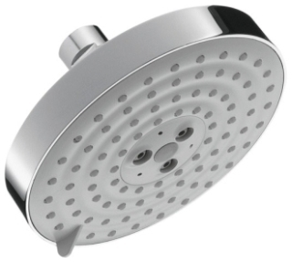 27495001 HANSGROHE RAINDANCE S 150 AIR 3-JET SHOWER HEAD CHROME