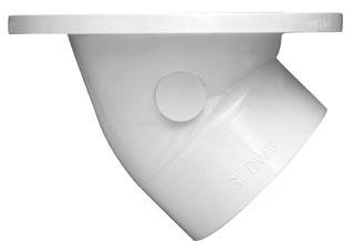 43816 OATEY PVC 45 DEG SWIVEL CLOSET FLANGE