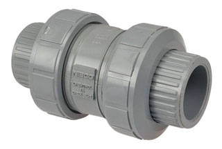 U51BC-V 3/4 NIBCO SCH 80 CPVC BALL CHECK VALVE W/ VITON 039923744159