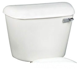 160RH-00 WHITE MANSFIELD TOILET TANK W/ RIGHT HAND HANDLE