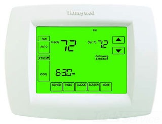 $$$TH8110U1003 HONEYWELL PREMIER WHITE THERMOSTAT Touch Screen-Programable VisionPRO 8000