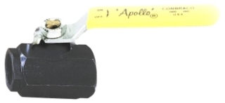 """72-143-01 APOLLO 1/2"""" IPS HIGH PRESSURE FULL PORT CARBON STEEL BALL VALVE W/316 SS BALL & STEM Not approved for Potable Water 2014 MODEL #: 7214301"""