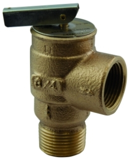 "13-511 3/4"" 15LB STEAM RELIEF VALVE Not approved for Potable Water 2014 MODEL #: RVS13A"