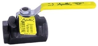 73A-107-01 1-1/2 APOLLO 2-PC CARBON STEEL IP BALL VALVE 2000# WOG STD PORT MODEL #: 73A10701