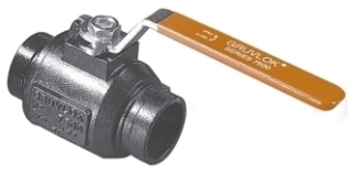 """GI7512-2-20 2"""" GRUVLOK GROOVED BALL VALVE W/TWO POSITION LOCKING HANDLE"""