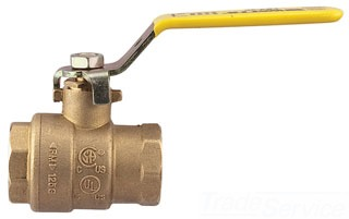 "FBV-3C 1-1/4"" IP FULL PORT BALL VALVE 600WOG (0547105) NOT LEAD FREE-NOT FOR POTABLE WATER"