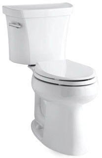 "K3889-0 HIGHLINE 1.28 GPF 10"" ROUGH ELONGATED COMFORT HEIGHT TOILET"