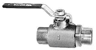 "B6001 2"" COP BALL VALVE STD PORT 600 PSI PSI W.O.G.(407468) Not approved for Potable Water 2014"