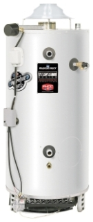 "DM-80T-199-3N 80 GAL NATURAL GAS 6"" FLUE 199999 BTU WATER HEATER WITH T&P VALVE Millivolt System"