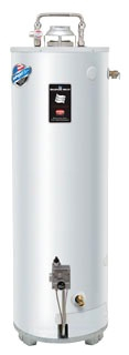 "GX-1-55S6BN-264 BRADFORD WHITE 55 GallonNATURAL GAS WATER HEATER 80,000 BTU 4"" VENT WITH ALUMINUM ANODE"