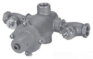 """ES150-11 RB POWERS HYDROGUARD XP EMERGENCY TEMPERING VALVE WITH COLD WATER BYPASS, 1/2"""" IN & OUT"""