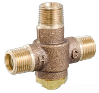 """LFE480-00 1/2"""" MIP POWERS UNDERCOUNTER THERMOSTATIC MIXING VALVE ( OLD 480 ) ASSE 1016 AND ASSE 1070 LISTED (6550045)"""