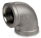 "SS15007-02-316 1/4"" TYPE 316 150# STAINLESS STEEL THRD 90 DEGREE ELL"