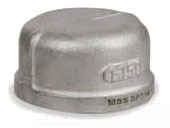 SS15017-10-304 1 150# 304 SS CAP
