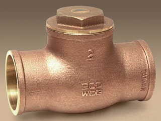 "173 9192M SC CXC 1-1/2"" SWING CHECK VALVE, 200# WOG Not approved for Potable Water 2014"