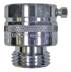 "34H-06 3/4"" WOODFORD (CH) CHROME PLATED VAC BREAKER [INSIDE SERVICE]"