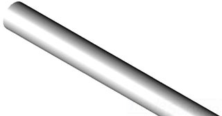 """PVC40-10020 10""""X 20 SCH 40 PVC PIPE"""