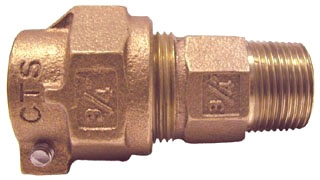 "313-207NL 1-1/2 "" LEGEND COPPER TUBE SIZE PEP TUBE COMP X MIP ADAPTER (4753) LEAD COMPLIANT"