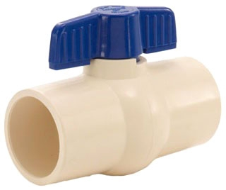 "S605-06 3/4"" CTS CPVC LEGEND BALL VALVE [202-404]"