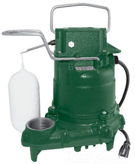 "53-0001 ZOELLER M53 ""Mighty-Mate"" 1/3 HP 1-1/2"" AUTOMATIC SUMP PUMP CAST IRON 9FT CORD 3YR WARRANTY FROM MANF. DATE"