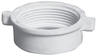988-6 1-1/2 PLASTIC SLIP NUT WHITE SIOUX 0143415