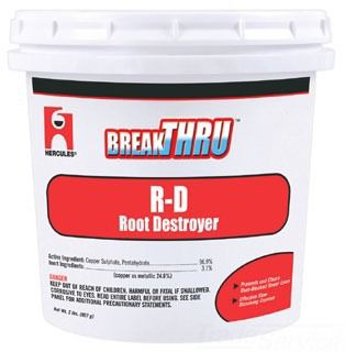 20602 2# ROOTOUT (RO-2) ROOT DESTROYER SEWER LINE OPENER