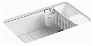 K5871-5UA3-0 Kohler RIVERBY SINK SINGLE UC 5U-HOLE