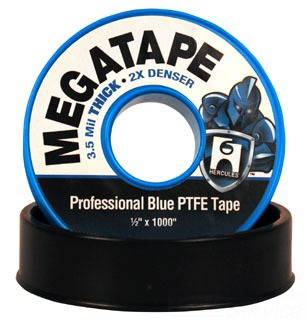 "15110 HERCULES MEGATAPE 3/4"" X 1000"" ROLL THREAD SEAL TAPE"