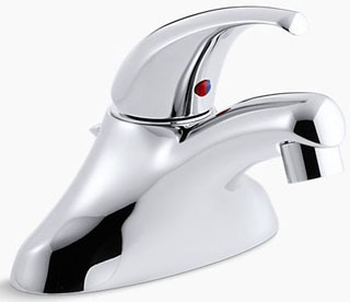 $$$ K15583-F-CP KOHLER CORALAIS SINGLE LEVER COMMERCIAL LAVATORY FAUCET WITH POP-UP WASTE