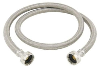 "BL12-60WAP BRASSCRAFT 60"" WASHING MACHINE HOSE 3/4"" FEM HOSE THR. X 3/4"" FEM HOSE THREAD"