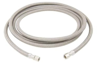 """B0-120IM 1/4""""COMP X 1/4""""COMP X 120"""" BRASSCRAFT ICE MAKER/HUMIDIFIER /WATER FILTER BRAIDED CONNECTOR"""