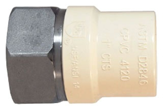 "4703SS-20 2"" FIP X CPVC STAINLESS TRANSITION FITTING 302-448 LEGEND"