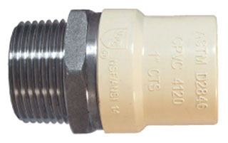 4704-14 1-1/2 MIP X CPVC SS TRANS FITTING 302-437 LEGEND
